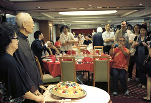 - 81st Birthday Banquet of Grandmaster Chu in 2014