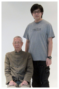 Horace and his father Grandmaster Chu